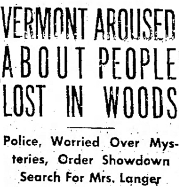 Unsolved Murders: The Vermont Long Trail Disappearances – Rex Hurst